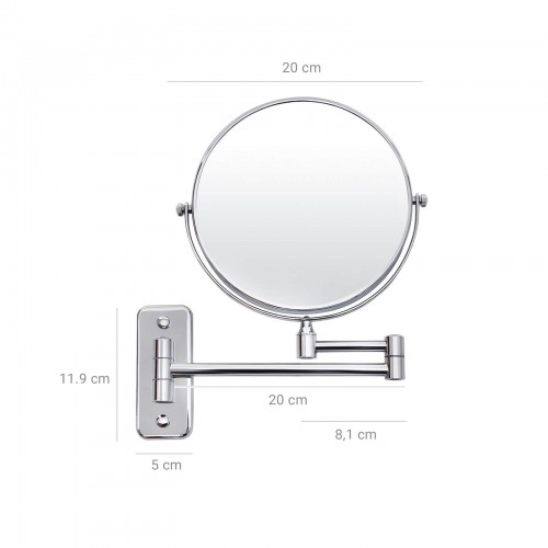Miroir maquillage grossissant x 7