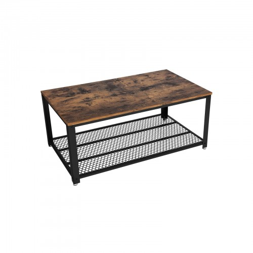 Table basse grille industriel