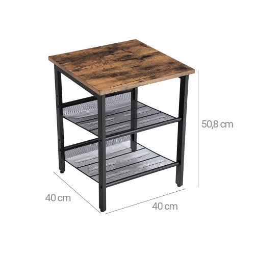 2 Tables de chevet industriel