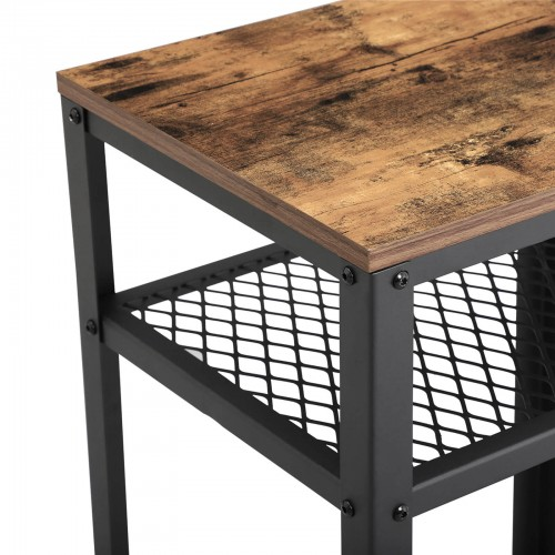 Table de chevet maille industriel