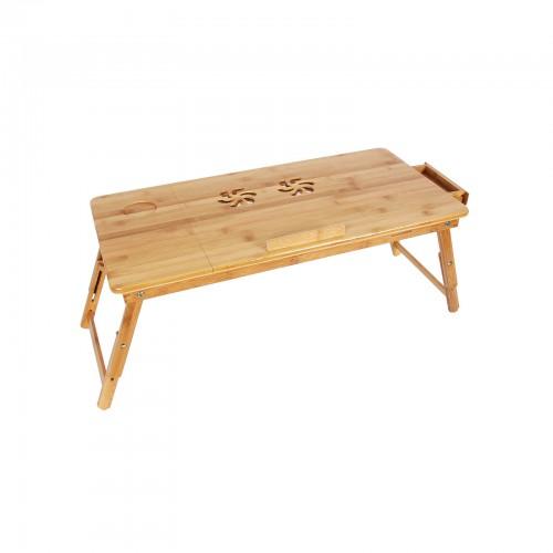 Table De Lit Pliable Pc Portable Bambou