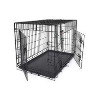 Cage animal noir XXL