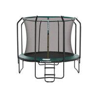 Trampoline 305 cm noir vert
