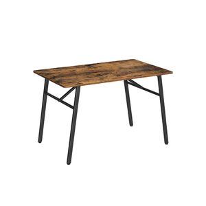 Table de cuisine de style industriel