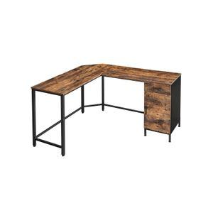 Table en Forme de L avec tiroir