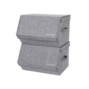 2 Boîtes couvercles magnétiques