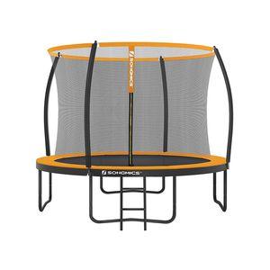 Trampoline extérieur Noir et Orange