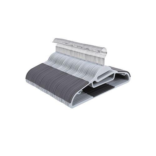 20 Cintres plastique gris