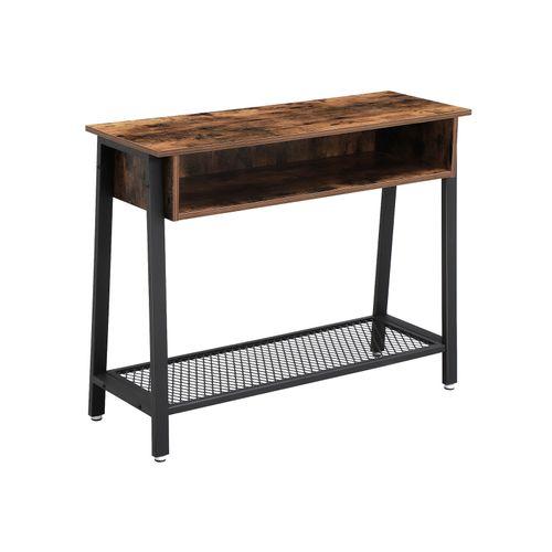 Table console maille avec tiroir
