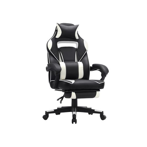 Chaise gaming blanc