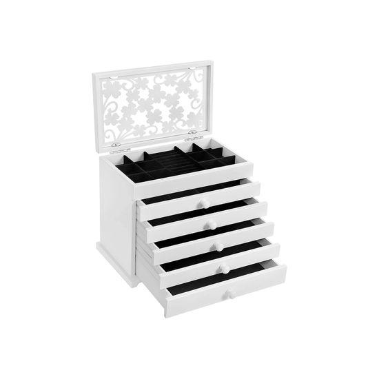 Boîte à bijoux 5 tiroirs