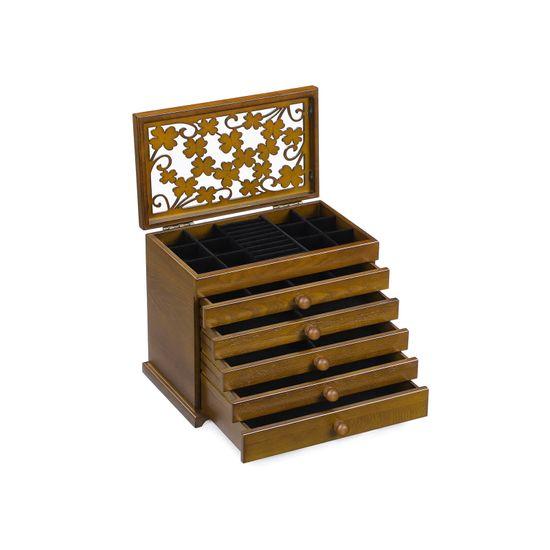 Boîte à bijoux trèfle