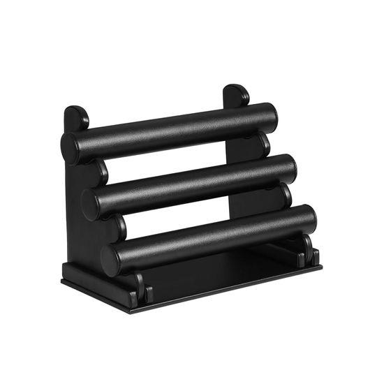 Porte-bracelets 3 niveaux noir