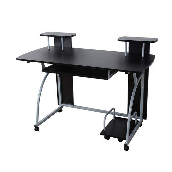Bureau informatique noir