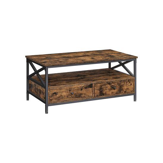 Table basse design en X