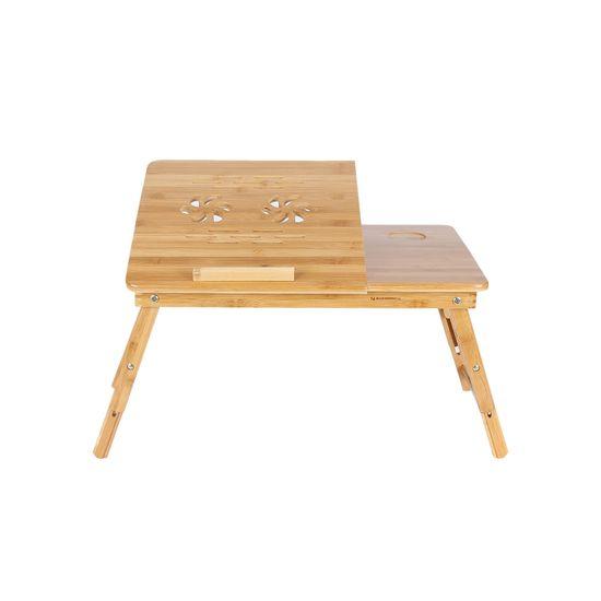 Table de lit PC portable bambou