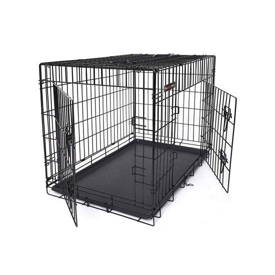 Cage animal L noir