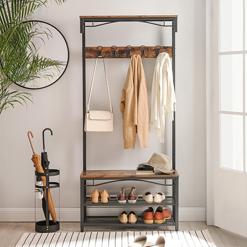 Désencombrez votre entrée avec l'un ou plusieurs de nos meubles fonctionnels.